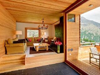 Contemporary Alpine Chalet Esprit with easy access to lift station, sauna & private chef - Saas-Fee vacation rentals