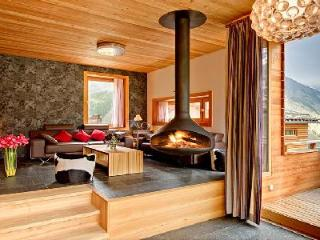 Contemporary luxury chalet Chloe with sauna, mountain views & private chef 2 min to lift station - Saas-Fee vacation rentals