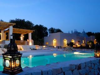 Villa Cervarolo - Stylish hideaway near Medieval town of Ostuni, with pool & beautiful views - Puglia vacation rentals
