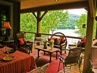 Luxury Lakefront Cabin - Fox Hollow Cottage - Cullowhee vacation rentals