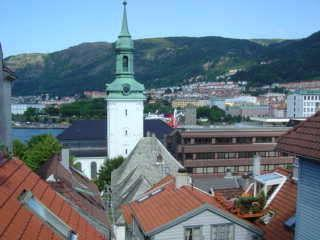 Top floor apartment  w/roof terrace Bergen city - Hordaland vacation rentals