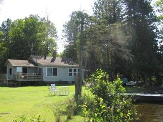 Lake side cabin 50 feet from clean spring fed lake - Minnesota vacation rentals