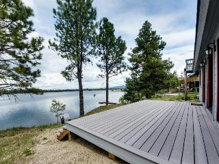 Private dock, beach access, lakefront getaway w/ a sauna! - Donnelly vacation rentals