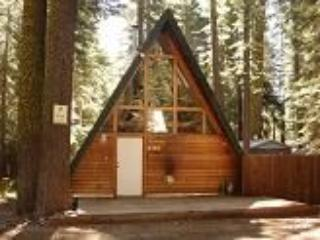 Tahoe A-Frame Rustic Cabin in forest setting - Homewood vacation rentals