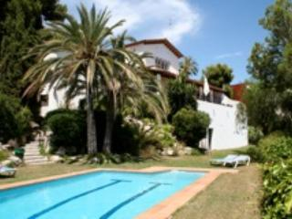 Front View - Very luxury Villa in Sitges with amazing sea view - Sitges - rentals