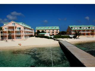 View of Carib Sands from the dock - # 115, Carib Sands Beach Resort - Cayman Brac - South Town - rentals