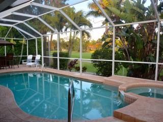 Stunning Golf Course Views/ Lely  Pool Home 3/2 plus den/office - Naples vacation rentals
