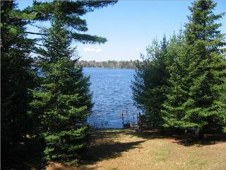 Chain Lake Log Lodge West of Eagle River - Eagle River vacation rentals