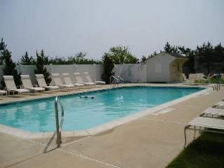 Outdoor Pool - Ocean Front Condo - Brigantine - rentals