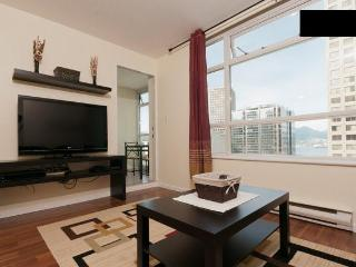 Downtown Vancouver 1br+den water view with parking - Vancouver vacation rentals