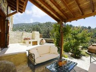 Blue cottage among pine trees on Troodos Mountains - Yermasoyia vacation rentals