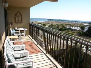 Great View of the Beach from the Balcony ! - Fernandina Beach vacation rentals