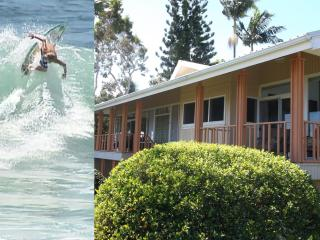 Beach, Whales, Surf, Water Falls, 2 Miles to Hilo - Hilo vacation rentals