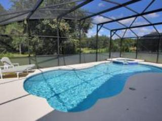 Pool deck overlooking farmland - Beautiful setting, overlooking open farmland - Davenport - rentals