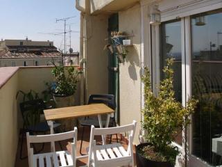 1 Bedroom apartment Atico Sol with terrace - Madrid vacation rentals