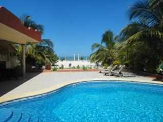 Castillito Kin Nah, The Oasis on the beach in the - Celestun vacation rentals