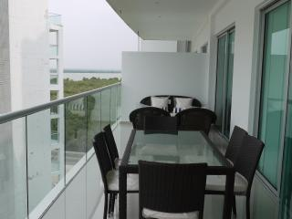 2bed 3 bath oceanview furnished Cartagena sleeps 9 - Bolivar Department vacation rentals