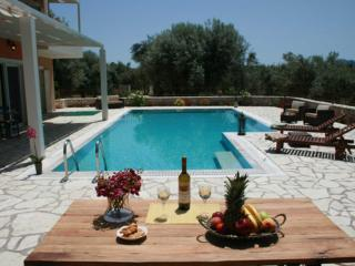 Private secluded villa with very big swimming pool, ideal for families - Nidri vacation rentals