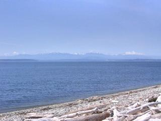 Salmon Run Beach Getaway - right on the beach! Olympic Mountain view - Coupeville vacation rentals