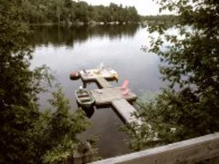 View from cottage - AMAZING VIEW WATERFRONT CHALET - PARRY SOUND AREA - Dunchurch - rentals