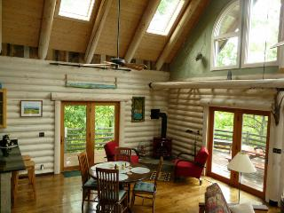 Light Filled Mountain Log Home close to Asheville - Blue Ridge Mountains vacation rentals