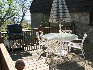 Granite Courtyard: Charming cottage in Rockport with private deck and views! - Newbury vacation rentals