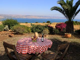 Pinabagallil panoramic view over the sea of galile, Chorazim - Galilee vacation rentals