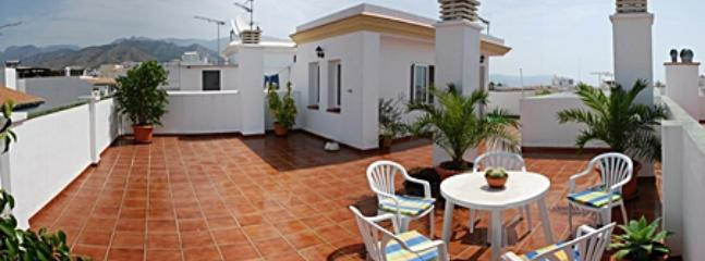 Terrace - Holiday apartment in Nerja, 700m from the beach - Nerja - rentals