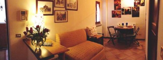 living room - Historical and lovely Campo de Fiori apartment - Lazio - rentals