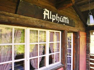 Chalet Alphüttli in peaceful countryside - Visperterminen vacation rentals
