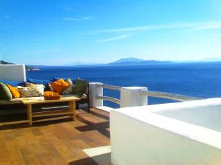 Away from Crowds and Noise -  a 5-Bedroom 5-Bathroom,  Seafront Villa - Naxos vacation rentals