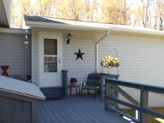 Gorgeous 1 bedroom House in Jim Thorpe with Deck - Jim Thorpe vacation rentals