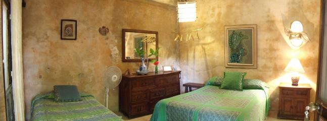 Room #3 at Casitas Kinsol - 1 double bed and 1 single bed - Casitas Kinsol Guesthouse -Room 3- Puerto Morelos - Puerto Morelos - rentals