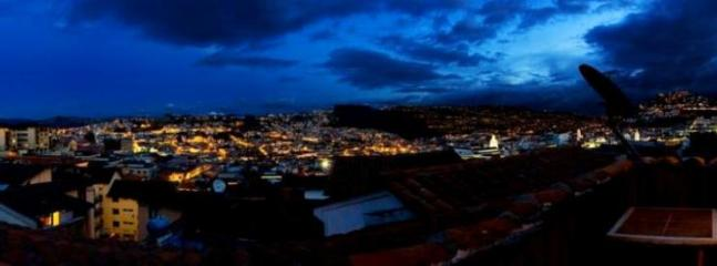 Evening view - Gorgeous condo in Quito´s Old Town! - Quito - rentals