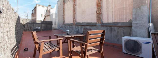 Sunny Private Terrace - Central Apartment withTerrace in Barcelona Borne - Barcelona - rentals