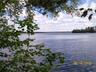 Hummingbird Hill - A 3 Season Cedar Log Home on Big St. Germain Lake - Saint Germain vacation rentals