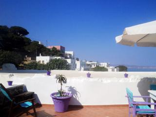 Spacious Apt. with panoramic view roof-terrace - Milos vacation rentals