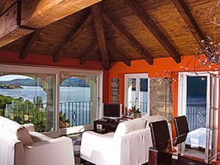 Villa L'Antica Colonia on Lake Orta: attic for 2 people - Pettenasco vacation rentals