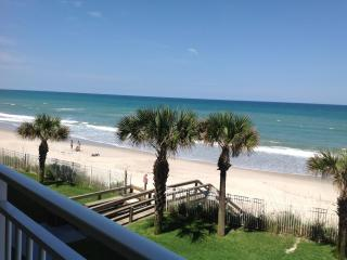 Direct Oceanfront. Extra Large Balcony. Renovated - Satellite Beach vacation rentals