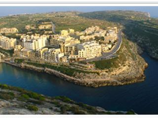 Xlendi Aerial Photo - 2 Bedroom Apartment in Xlendi Gozo - Victoria - rentals