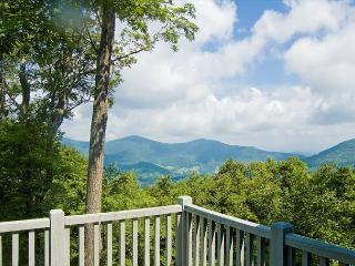 Mountain Top Cabin w/ Views - Private - Fire Pit - Hot Tub - Sleeps 12 - West Jefferson vacation rentals