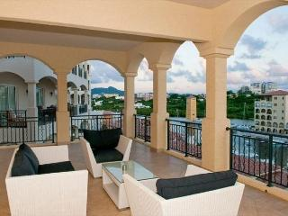 Luxury, hip 2 bedroom, 2.5 bath residence in Porto Cupecoy! - Saint Martin-Sint Maarten vacation rentals