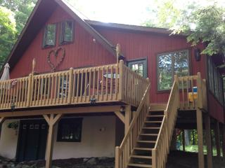 Up the road from the Lake & Pool. THE HIDEOUT - Lake Ariel vacation rentals