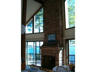Great room with rare BH pink granite fireplace and full Ocean view!!!! - Bar Harbor Haus  / OCEANFRONT / BEST VIEW IN ME.!! - Bar Harbor - rentals