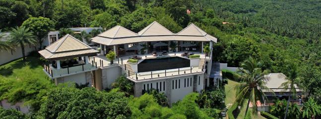 Aerial view - Villa Nava - Luxury Family Friendly Villa - Ban Bang Makham - rentals