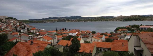 view from apartment - Apartment Madlena in Sibenik with sea view - Sibenik - rentals
