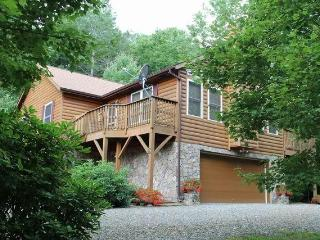 SPECTACULAR LOG CABIN, 4/3 PRIVATE. HOT TUB HIKING - Burnsville vacation rentals