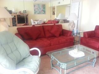 Queen size sleeper sofa - Long Beach Resort 2-1302 - Panama City Beach - rentals