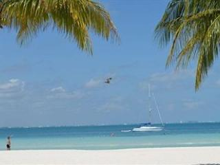 Beach and ocean scene from premises - Best Beach in Cancun - Cancun - rentals