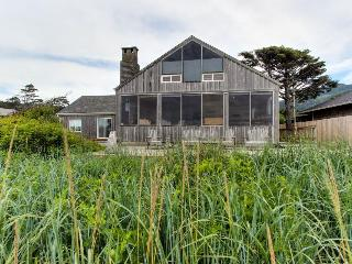 Oceanfront, dog-friendly home with fantastic ocean views - Arch Cape vacation rentals